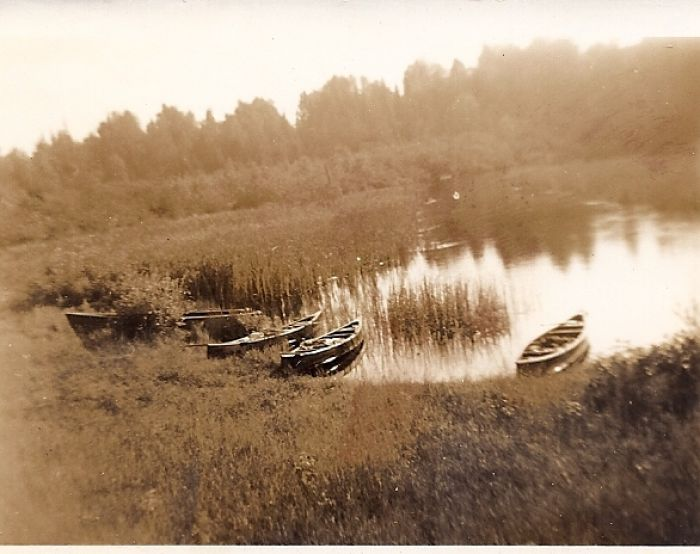 RPC canoe trip to Trout River, 1953