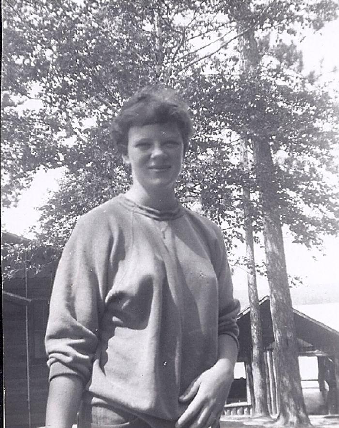 Carol Gibks, 1955