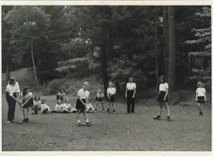 Croquet 1945
